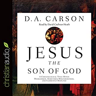 Jesus the Son of God audiobook cover art