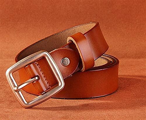 YSJJLRV Lámpara de Pared Correa for Mujer Casual Todo-Match Mujeres Breve Cinturón Mujer Correa Correa Cinturones Pantalones Jeans Belt (Belt Length : 115CM, Color : Brown)