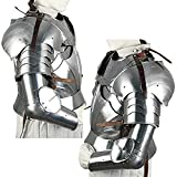 Complete Medieval Knight Arms Armor Set Silver