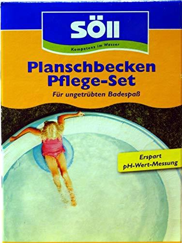 Söll Pool Pflege-Set für Pool, Schwimmbad, Planschbecken und auch Hundepool gegen Algen, Bakterien, Pilze und Sporen (AquaDes 1 L + AlgenFrei 1 L)