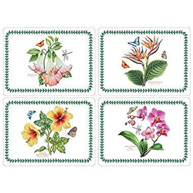 Pimpernel Exotic Botanic Garden Placemats - Set of 4