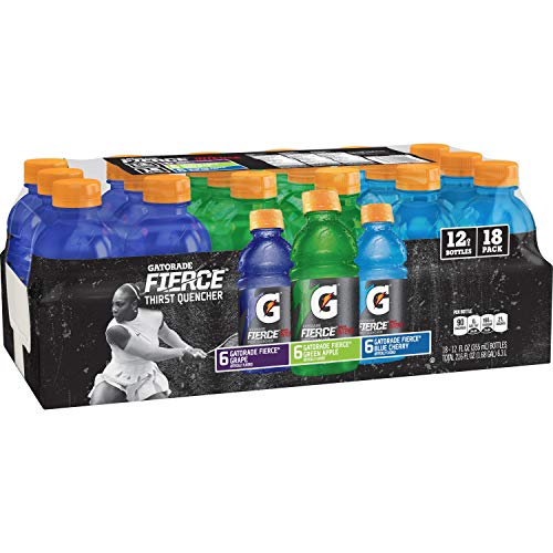 Gatorade Fierce Thirst Quencher Variety Pack, 18 Count