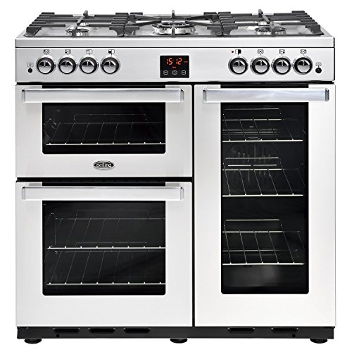 Belling Cookcentre 90G Professional 90cm Gas Range Cooker Stainless steel