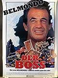 Der Boss - Jean-Paul Belmondo - Filmposter A1 84x60cm