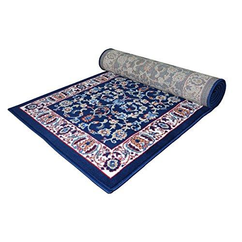 WEBTAPPETI.IT Tappeto Salotto Motivo Classico - Passatoia Economica Stile Orientale Royal Shiraz 2079-BLUE 70X300