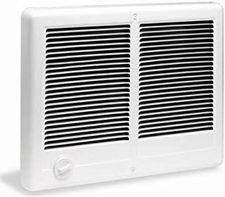 Cadet Com-Pak Twin 4000W, 240V Most Popular Large Room Electric Wall Heater with Thermostat, White