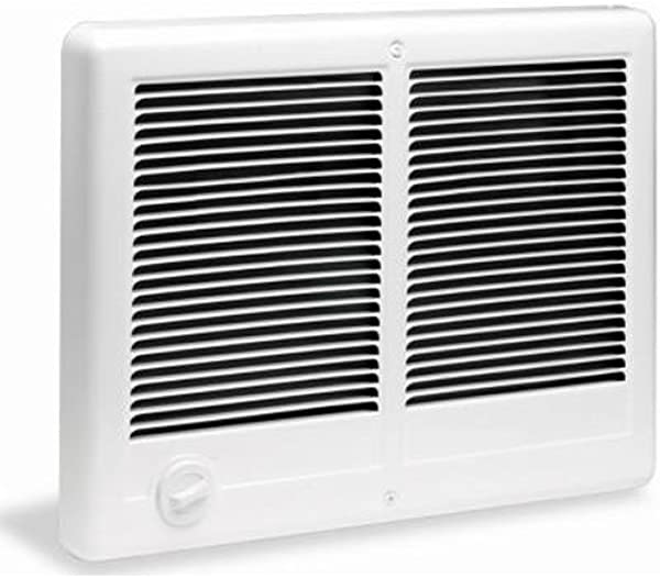 Cadet Com Pak Twin 4000W 240V Most Popular Large Room Electric Wall Heater With Thermostat White