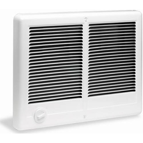 Cadet Manufacturing 67527 240-Volt White Com Pak Twin Double Fan Forced Electric Wall Heater, 4000-Watt