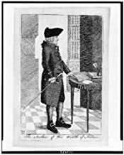 HistoricalFindings Photo: Author of The Wealth of Nations,Adam Smith Pointing to Book on Small Table,1790