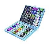 Set di 150 matite colorate di alta qualità, kit per artisti di disegno per bambini per conservare e proteggere le tue penne. Ideale per artisti, adulti e bambini.