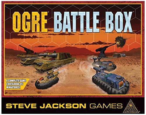 Steve Jackson Games Ogre Battle Box