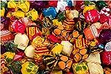 Surtido Caribe La Asturiana - Clásico surtido de caramelos duros de diversos sabores (piña, mora, miel...), envoltorio un lazo, bolsas de 1 kilo, sin gluten
