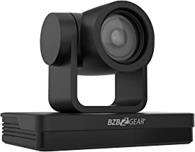 BZBGEAR Universal PTZ HDMI/SDI/USB 3.0 RS232/485 IP Live Streaming Camera (20X Optical Zoom, Black)