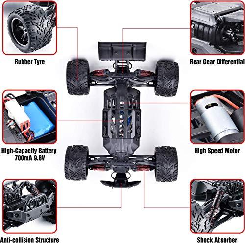 RC Auto kaufen Buggy Bild 6: GoStock Ferngesteuertes Auto RC Off-Road Buggy Auto 1:12 Maßstab 38km/h 2,4GHz Funkfernsteuerung Elektro Geländewagen für Outdoor Umgebung Draußen Spielzeug Auto für Erwachsene und Kinder*