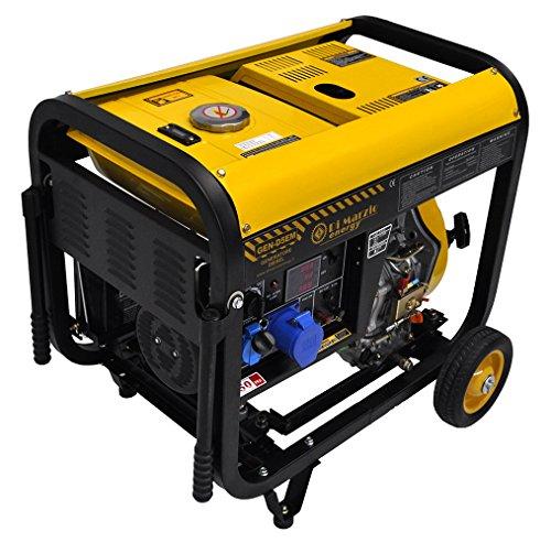 Di Marzio Energy Generador eléctrico 4,5 KW - Diesel - Grupo electrógeno - Arranque eléctrico y Manual