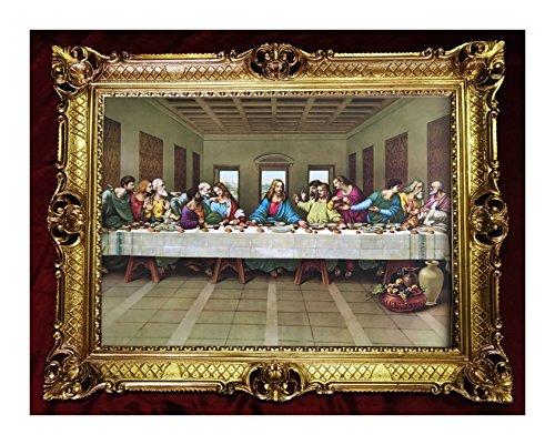 Fabricado en italy barroco Gemälde Cuadro con marco segunda mano  Se entrega en toda España