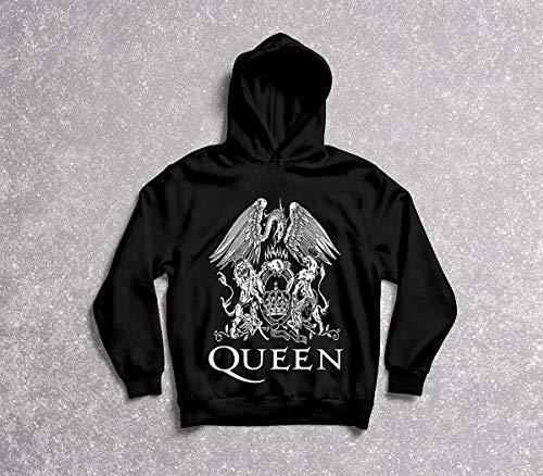 Moletom Feminino Queen Bohemian Rhapsody Tamanho:G;Cor:Preto