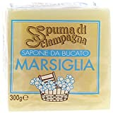 spuma de sciampagna–jabón de ropa Marsella–4piezas de 300G [1200G]