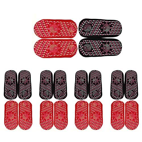 5 pares de calcetines térmicos para mujer, terapia de calentamiento automático, calcetines magnéticos de turmalina con forro polar, calcetines de interior con forro polar(Color opcional)