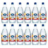 Crystal Geyser 1.25 Liter Cranberry Clementine Flavored Sparkling Spring Water 12 Pack, PET Plastic Bottles, No Artificial Ingredients or Sweeteners