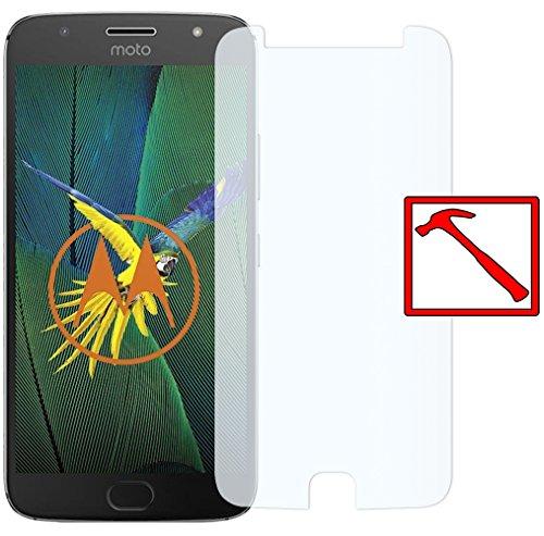 Slabo Premium Pellicola Protettiva in Vetro Temperato per Motorola Moto G5s Plus Pellicola Schermo Tempered Glass Crystal Clear - Graffi Fino a 9H