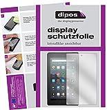 dipos I 2X Schutzfolie klar kompatibel mit Amazon Fire 7 Tablet Kids Edition (2019) Folie Bildschirmschutzfolie