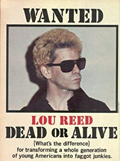 Lou Reed 13 X 19