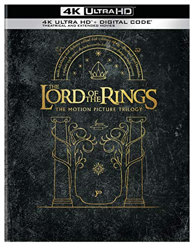 The Lord of the Rings Motion Picture Trilogy Giftset (Extended & Theatrical)(4K Ultra HD + Digital)