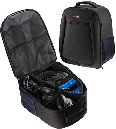Navitech Robust Rucksack / Fall kompatibel mit dem Lenovo Explorer Windows Mixed Reality headset