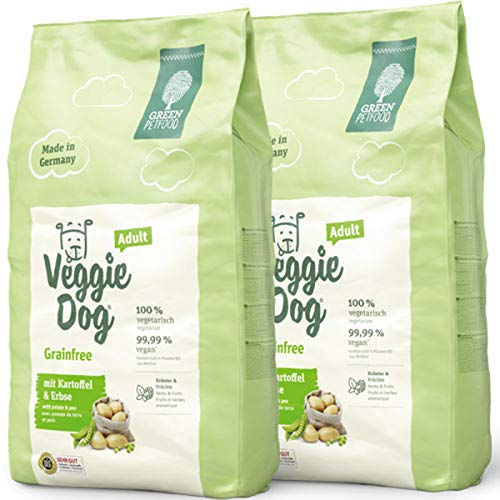 Green Petfood 2 x 10 kg Veggie Dog Adult Grainfree