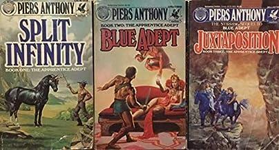 The Apprentice Adept 3 Book Set - Book One: Split Infinity - Book Two: Blue Adept - Book Three: Juxtaposition