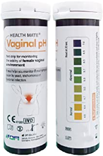 Vaginal Health pH Test Strips Without Swabs - Monitor Vaginal Intimate Health (Pack of 25)