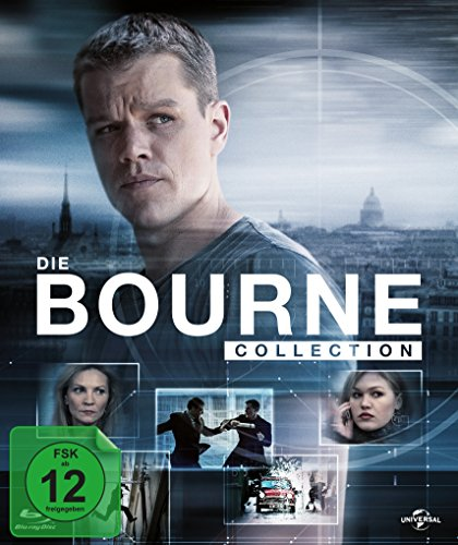 Bourne Collection 1-4 (+ Bonus-DVD) [Blu-ray] [Limited Edition]
