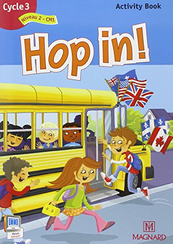 Hop in ! Activity Book Cycle 3