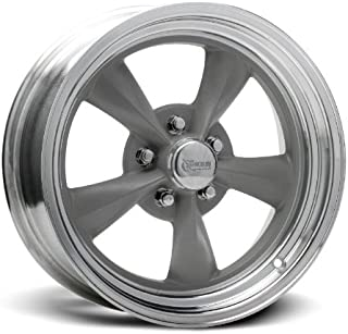 Rocket Racing Wheels Fuel Gray Painted Center/ Machined Outer Wheel (15x7