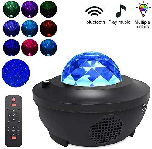 Muziek roterende nachtlampje Projector Spin Starry Star Master Kids slapen Romantische USB Lamp Projectie LED Muziek Ster