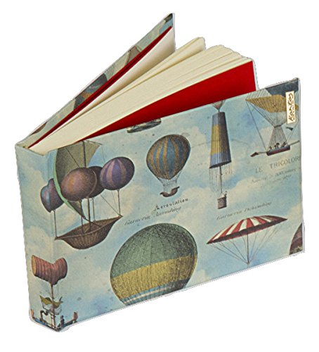 Kartos 01-683900 Air Balloons sketchbook, Made in Italy, A6