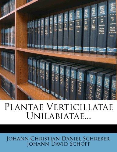 Plantae Verticillatae Unilabiatae...