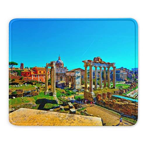 Italien Forum Romanum Rom Mauspads Geschenk Souvenir 7,9 x 9,5 in 3mm Gummipad