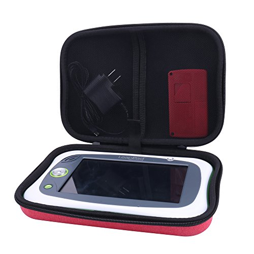 Aenllosi Storage Carrying Case Organizer for Leapfrog LeapPad Ultimate Tablet (Red)