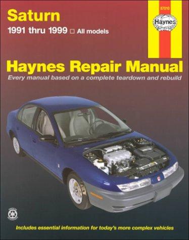 Saturn '91'99 (Haynes Repair Manual)