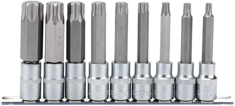 DRAPER h-tx 9 100 Quadratisch Drive Lange TX Star Socket Socket Socket Bit Set, blau, 1 2 100 mm, Set 9 Stück B071XHMFXL | Modisch  4e63e9