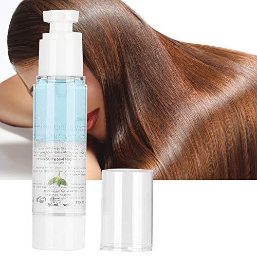 Spray de soins capillaires, Spray hydratant à la menthe UV Protect, Spray réparateur pour cheveux abîmés pour améliorer les cheveux crépus, humidifier, contrôler l'huile(50ML)