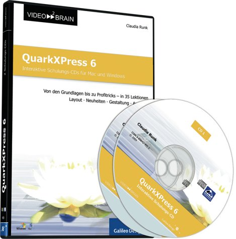 QuarkXPress 6 - Schulungs-CD für Mac und Windows (Galileo Design)