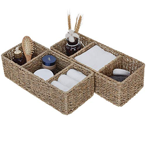 3-Section Baskets are nice in camper decor