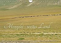 Mongolei - weites Land (Wandkalender 2022 DIN A4 quer): Ein wunderschoenes, naturbelassenes Land - die Mongolei (Monatskalender, 14 Seiten )