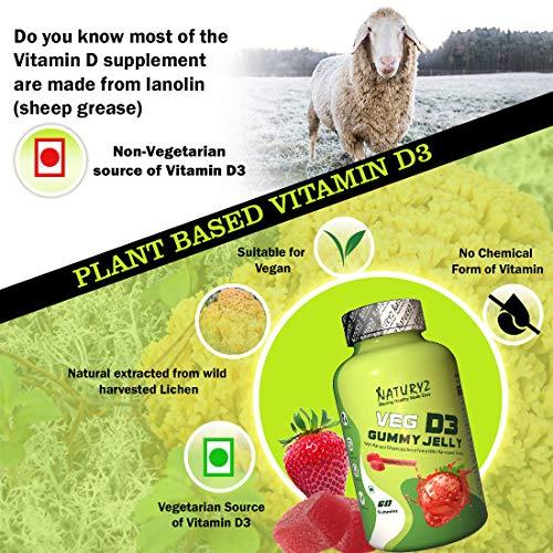 Naturyz Vegetarian Vitamin D3 Gummy Jelly