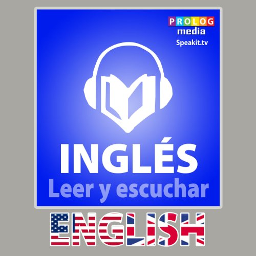 Inglés - Libro de frases: Leer y escuchar [English - Phrase Book: Reading and Listening] audiobook cover art