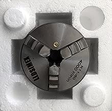 "LLDSIMEX K11-80 Chuck 3 Jaw Self-Centering Lathe Chuck 3""/80mm With Internal and External 2 Set Jaws"