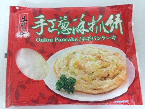 台湾土包子手工葱酥抓餅・葱油抓餅(手作りネギパンケーキ) 6点セット 冷凍食品